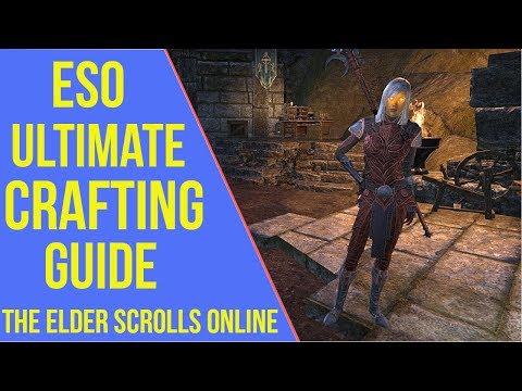 Eso blacksmithing leveling guide 2019