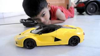 Ferrari Remote Control Car | Unboxing | Test Drive