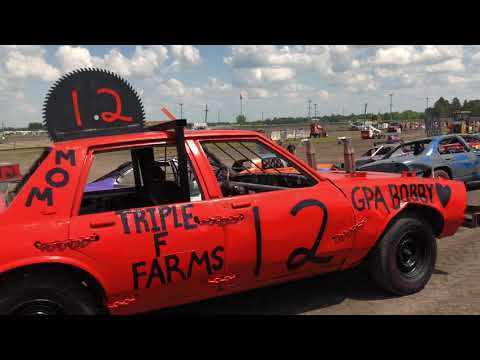 Arlington Raceway Demo Derby walk Around