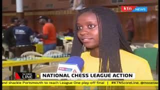 National Chess League Action   KTN SCORELINE