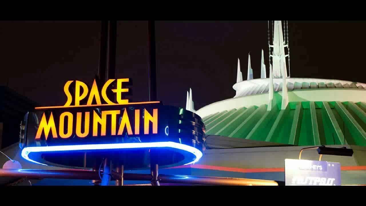 Walt Disney World Vacation 2015 Space Mountain At Magic
