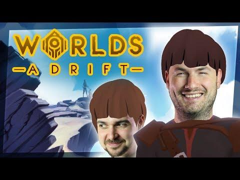 BUILDING SKY SHIPS | Worlds Adrift