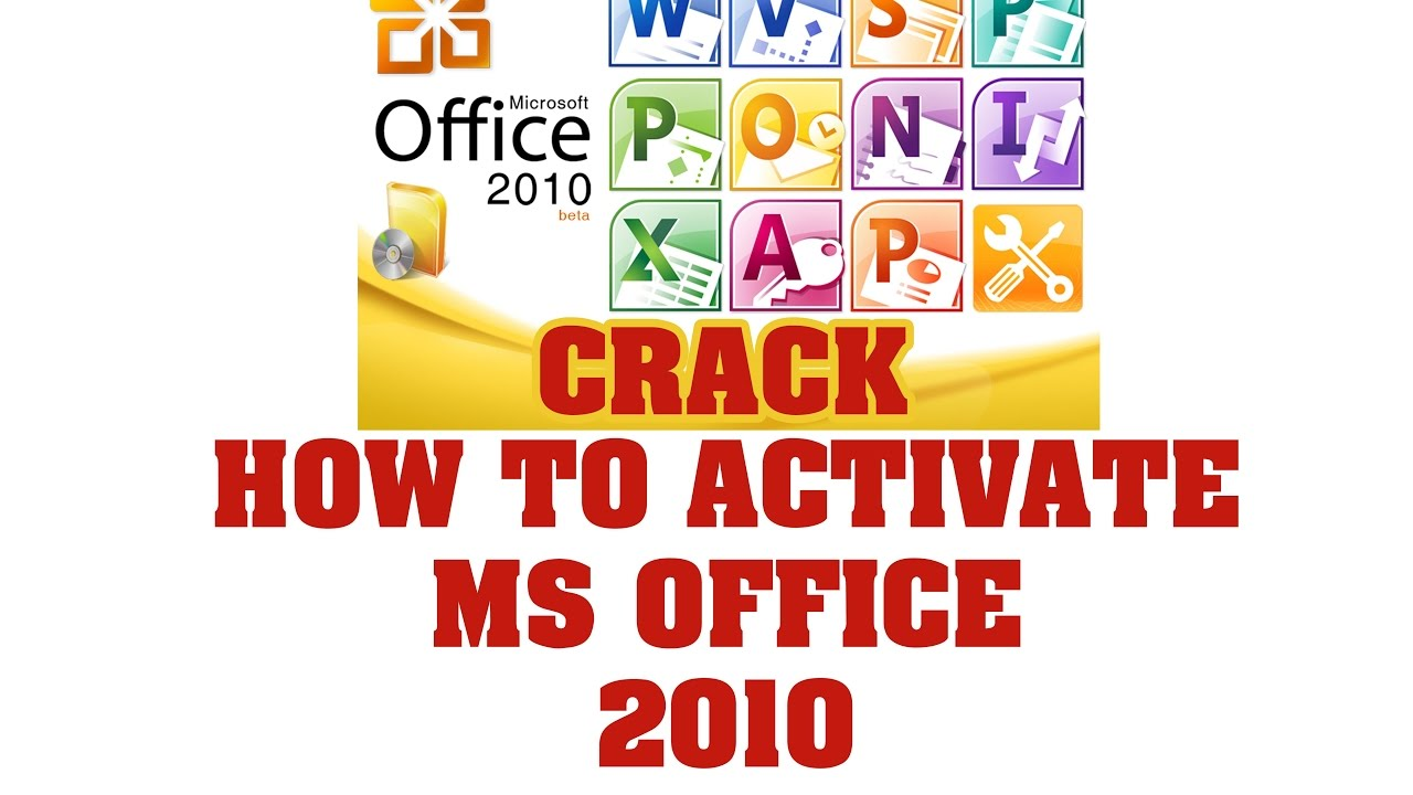 Activate office 2010 by phone crack | Microsoft Office 2010