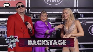 To Backstage | Mad Video Music Awards 2020