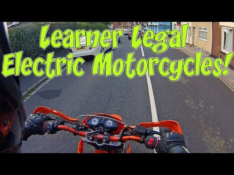 Learner Legal Electric Motorcycles!