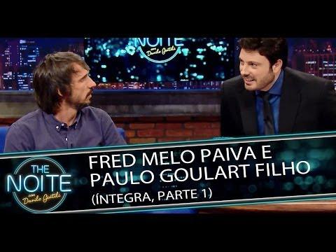 Fred Melo Paiva e Paulo Goulart Filho no The Noite - 18/03/14 (Parte 1)