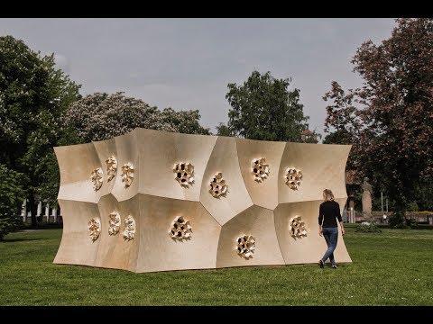 HygroSkin Meteorosensitive Pavilion | Achim Menges Architect + Oliver David Krieg + Steffen Reicher