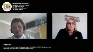 Interview  de Nicolas en Bac pro Aménagements Paysagers