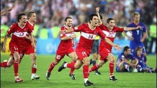 Türkiye vs Hırvatistan Euro 2008 Çeyrek Final HD 720p   TARİHİ MAÇ!