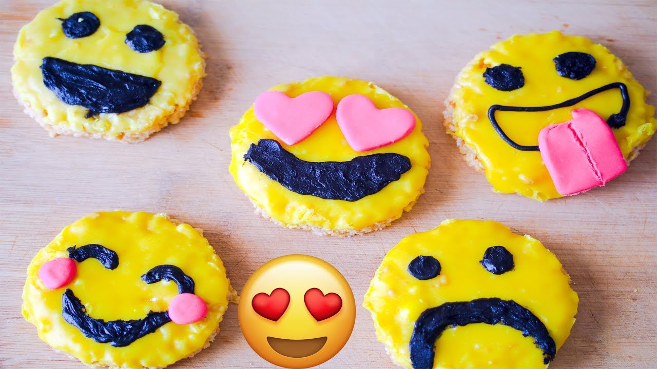 Rice Krispy Emoji Treats Diy The Tasty Numnums Show Youtube