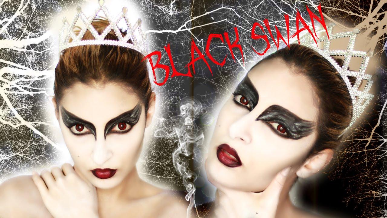 @Sananas : Halloween Make Up : BLACK SWAN