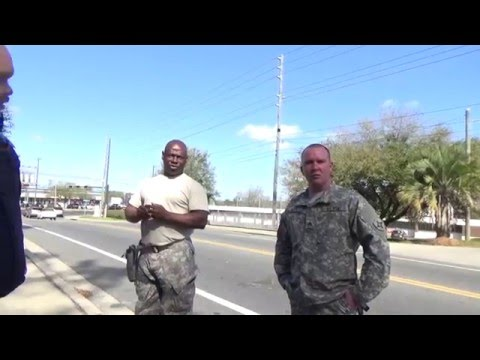 (From my angle) 1st Amendment Audit, Bama Camera & PINAC, FL National Guard (Tallahassee, FL)