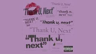 [FREE] Ariana Grande 'thank u, next' TYPE BEAT 2019   POP TRAP Instrumental