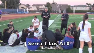 cif girls soccer los alamitos vs jserra
