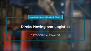 2016 BBB Torch Awards for Ethics Finalist: Dircks Moving and Logistics