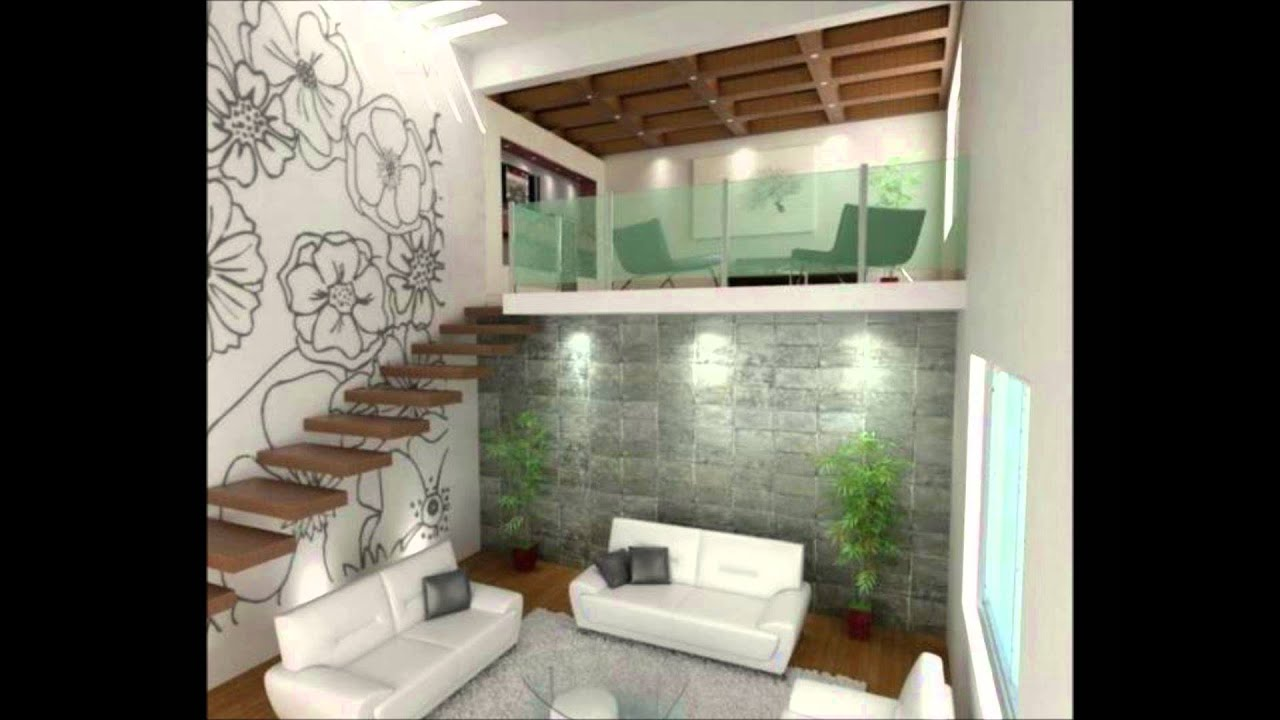 Renders de casas y decoracion de interiores youtube - Escaleras modernas interiores ...