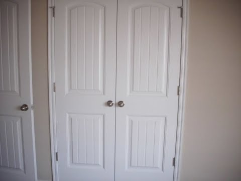 Ordinaire Double Closet Doors For Wardrobe Furniture