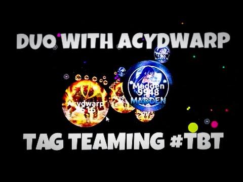 ZT Agar.io // Duo With Acydwarp // #TBT