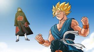 Goku & Itachi Uchiha