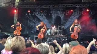 Apocalyptica - Inquisition Symphony - Pioneerifestivaali 16.7.2016