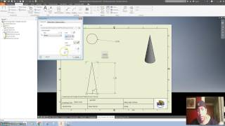 Drawing Rocket Fin and Nose Cone on Inventor