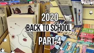 BACK TO SCHOOL 2020 новинки милой канцелярии и вещей шоппинг бэк ту скул 2020