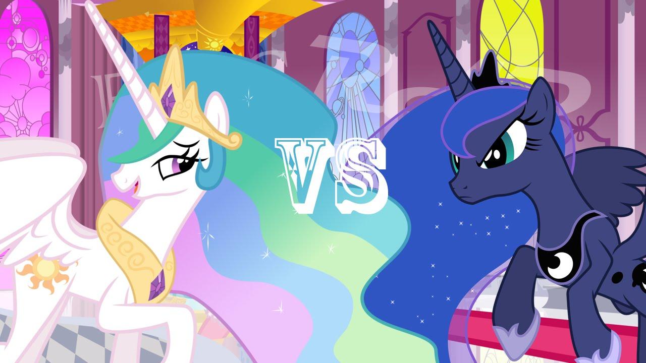 Epic Rap Battles Of Ponyville : Princess Celestia VS ...