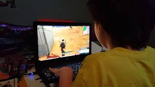 Ryan playing Fortnite with a Friend