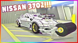 WYJĄTKOWY NISSAN 370Z ⚡⚡ PODWÓJNE LASERY! | GTA ONLINE