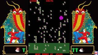 Atari Vault: Gameplay - Millipede (PC HD)
