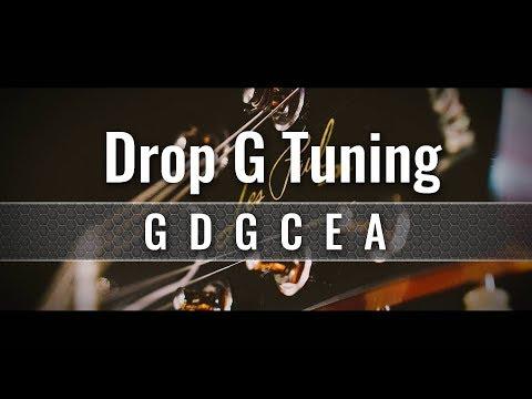 Drop G Guitar Tuner (GDGCEA)