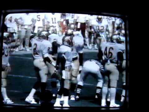 Florida State vs Miami 1986 Testaverde to Highsmith TD