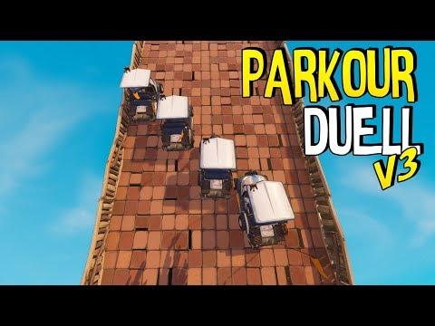 AUTORENNEN vs. DieBuddiesZocken & Mexify | Parkour Duell | Fortnite Battle Royale