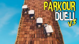 AUTORENNEN vs. DieBuddiesZocken & Mexify | Parkour Duell | Fortnite Battle Royale
