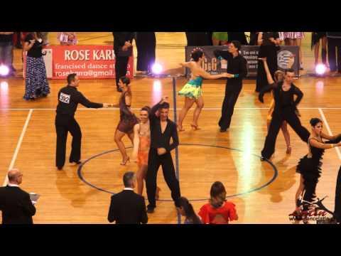 Athens Dance Sport Open 2014 : Adults: One Dance Salsa: Final