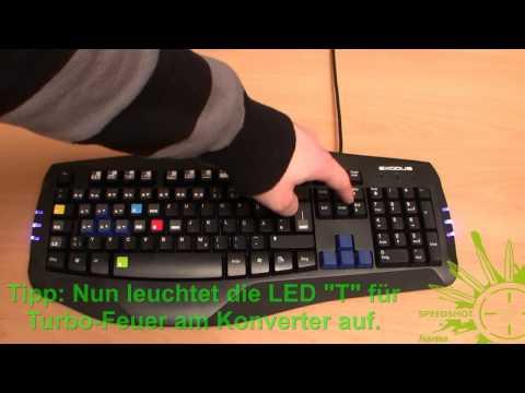 "Hama Maus-/Tastatur-Konverter ""Speedshot"" - Tutorial"