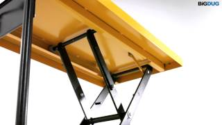Baixar BiGDUG Single Scissor Lift Table Product Video