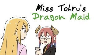Miss Tohrus Dragon Maid (Miss Kobayashi AU Comic) thumbnail