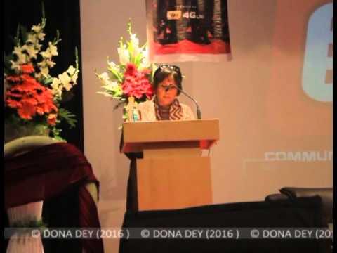 Barkha Dutt at SIMB
