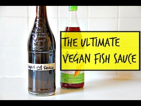 The ultimate vegan fish sauce youtube for Vegetarian fish sauce