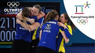 Clear win for Sweden in Curling final over Korea | Day 16 | Winter Olympics 2018 | PyeongChang