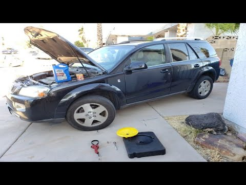 How to Change Car Engine Oil and Filter (Saturn Vue 2003-2007) thumbnail