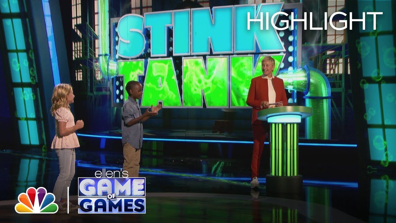 Download Stink Tank: Kids Cause Their Moms to Get Dunked - Ellen's Game of Games 2021