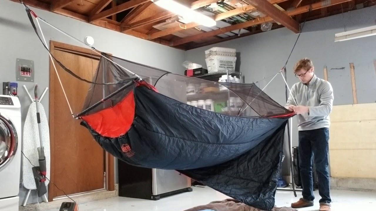 Rei Quarter Dome Air Hammock System Youtube