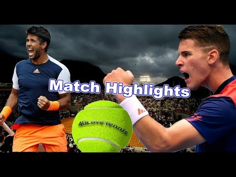Fernando Verdasco vs Dominic Thiem - RIO Open QF