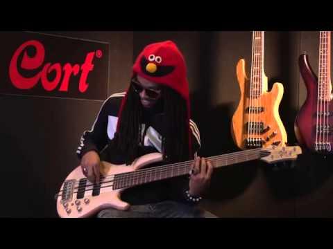 Cort Artisan A6 six string bass demoed