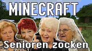 MINECRAFT - Senioren zocken!!! (Deutschlands älteste Gamer)