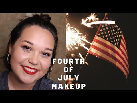 FOURTH OF JULY MAKEUP | L.S. thumbnail