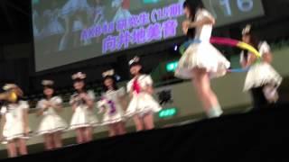 AKB4815期研究生の向井地美音ちゃんがフラフープを しながらキャットボ...