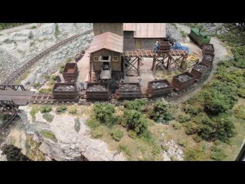 HOn 30 Narrow Gauge Coal Mine Railroad
